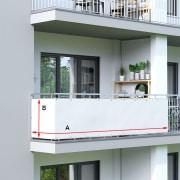PARAMONDO Premium Balkonbespannung nach Maß