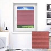 VICTORIA M Elegance Plissee | maßgeschneiderte Breite | NC106D rosa-rot