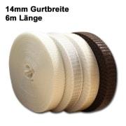 JAROLIFT 14mm Rolladengurt 6,0m (mit Farbauswahl)