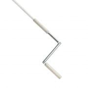JAROLIFT Markisen-Knickkurbel 130cm, weiß