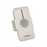Coulisse 1-Kanal Funk-Handsender für Jalousie-Funk-Wendemotoren weiß / silber