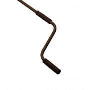 JAROLIFT Markisenkurbel 180cm starr, braun-glänzend