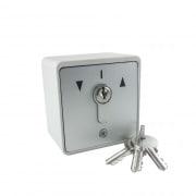 GEBA Schlüsselschalter / -taster AP inkl. 3 Schlüssel