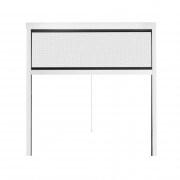 JAROLIFT Insektenschutzrollo Aluminium Eco für Fenster 110 x 160cm, weiss