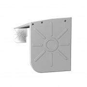 JAROLIFT Regenschutzdach für Gelenkarmmarkise Basic 395 x 300cm, weiss