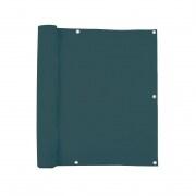 JAROLIFT Balkonbespannung Sichtschutz - 500 x 90 cm - wasserabweisend - dunkelgrün