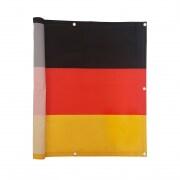 JAROLIFT Balkonbespannung Sichtschutz - 300 x 90 cm - wasserabweisend - Deutschland Fahne Design