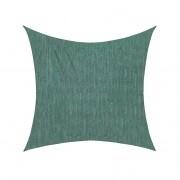 Sonnensegel - 360 x 360cm - grün - quadratisch - atmungsaktiv (3,6 x 3,6m)