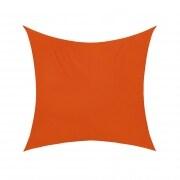 Sonnensegel - 360 x 360cm - orange - quadratisch - wasserabweisend (3,6 x 3,6m)