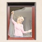 JAROLIFT Fliegengitter für Fenster 150 x 300cm, weiss