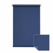 VICTORIA M Klemmfix Verdunkelungsrollo 105 x 150cm, dunkelblau
