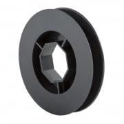 JAROLIFT Gurtscheibe für 40mm Rolladenwelle (D = 120mm)