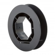 JAROLIFT Gurtscheibe für 60mm Rolladenwelle (D = 130mm)