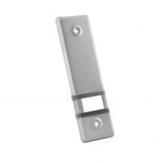JAROLIFT Design Aluminium-Abdeckplatte für Gurtwickler / LA: 160mm / grau