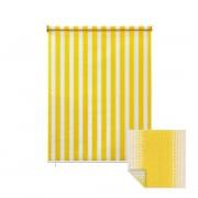 JAROLIFT Außenrollo / Senkrechtmarkise 240 x 240cm, gelb / weiß