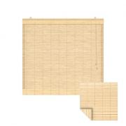 VICTORIA M Klemmfix Bambus-Raffrollo 60 x 220cm, natur