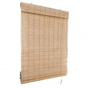 VICTORIA M Klemmfix Bambus-Raffrollo 140 x 160cm, natur