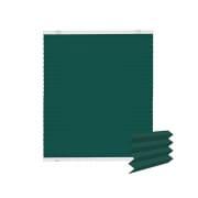 VICTORIA M EasyFix Plissee 40 x 100cm, grün-blau