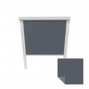 VICTORIA M Verdunkelungsrollo passend für Fakro-Dachfenster | 78/98 | dunkelblau