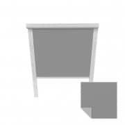 VICTORIA M Verdunkelungsrollo passend für Roto-Dachfenster | 07/14 | grau