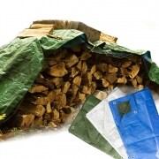 Holz-Planen / Kaminholzabdeckung / Holz-Abdeckplanen - JAROLIFT