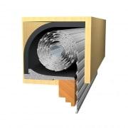 JAROLIFT Energiespar Rollladendämmung / Rollladenkastendämmung
