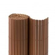 JAROLIFT Premium PVC Sichtschutzmatte 180 x 600cm (2x 3m Länge), braun