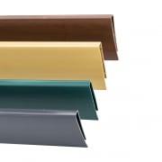 JAROLIFT PVC Abdeckprofil für Sichtschutzmatten (Typ nach Wahl)