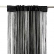 VICTORIA M Leonora Fadengardine 100 x 245cm, schwarz