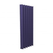 VICTORIA M Vertikaljalousie-Lamellen Isabella - I-Form, leicht lichtdurchlässig - 8,9 x 250cm, blau | 6er Pack