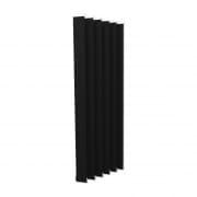 VICTORIA M Vertikaljalousie-Lamelle Isabella - I-Form, verdunkelnd - 8,9 x 250cm, schwarz | 6er Pack