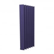 VICTORIA M Vertikaljalousie-Lamelle Isabella - I-Form, leicht lichtdurchlässig - 12,7 x 250cm, blau | 6er Pack