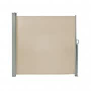 PARAMONDO Seitenzugmarkise 1,8 x 3m, cremeweiß