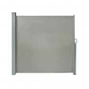 PARAMONDO Seitenzugmarkise 1,8 x 3m, grau