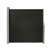 PARAMONDO Seitenzugmarkise 1,8 x 3m, schwarz