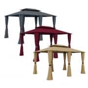 paramondo Comfort Gartenpavillon (Farbe nach Wahl)
