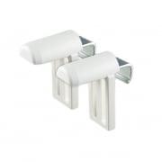 VICTORIA M Klemmfix Universal-Klemmhalter für Kunststofffenster | 2er Set