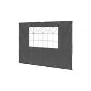 PARAMONDO Seitenwand-Fenster für Faltpavillon Basic & Premium | anthrazit