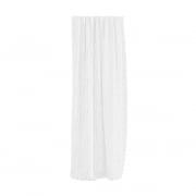 Verdi Collection Premium Gardinenschal | lichtdurchlässig, Vertikal-Linien, 145 x 245 cm, weiß
