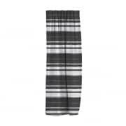 moments Gardinenschal | lichtdurchlässig, Horizontal-Streifen, 135 x 245 cm, schwarz