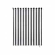 paramondo Außenrollo - Senkrechtmarkise | freihängend, 140 x 140 cm, grau-weiß