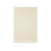VICTORIA M Elegance Plissee | Vlies-Stoff, lichtdurchlässig, 40 x 100 cm, creme