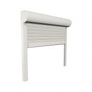 JAROLIFT Vorbaurollladen Premium PVC, Kasten halbrund, 400 x 400 mm, weiß