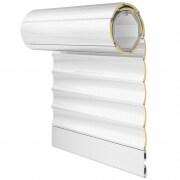 JAROLIFT Rollladenbehang / Rollladenpanzer ALU, 52 mm Profil Aluminium, 500 x 500 mm, weiß