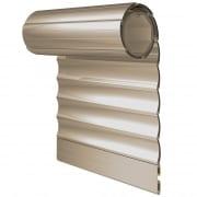 JAROLIFT Rollladenbehang / Rollladenpanzer PVC, 37 mm Profil Kunststoff, 500 x 500 mm, beige