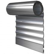 JAROLIFT Rollladenbehang / Rollladenpanzer PVC, 37 mm Profil Kunststoff, 500 x 500 mm, grau