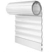 JAROLIFT Rollladenbehang / Rollladenpanzer PVC, 52 mm Profil Kunststoff, 500 x 500 mm, weiß
