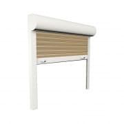 JAROLIFT Vorbaurollladen Basic PVC, Kasten eckig, 600 x 600 mm, beige