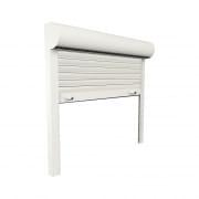 JAROLIFT Vorbaurollladen Basic ALU, Kasten eckig, 500 x 500 mm, weiß