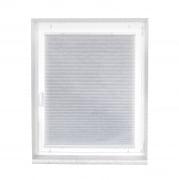VICTORIA M Indiva Plissee, 20x100cm m. PVC-Schienen ohne Bohren, Nano-Cell weiß